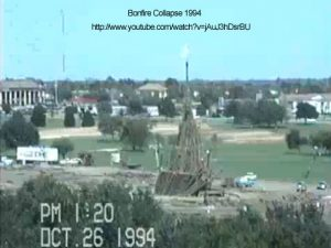 Collapse of Bonfire 1994