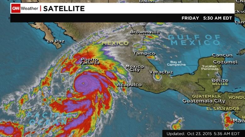 Hurricane Patrica